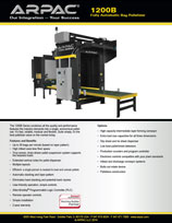 1200B Fully Automatic Bag Palletizer
