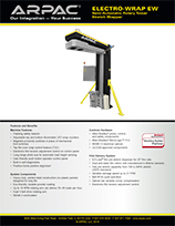 Electro-Wrap EW Semi-Automatic Rotary Tower Stretch Wrapper